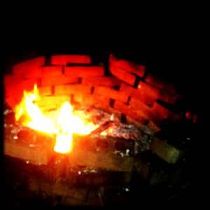 Have a yearly bonfire to celebrate school year end!