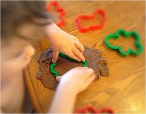 Gingerbread Playdough