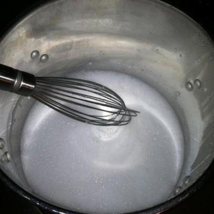 Whisk and melt soap