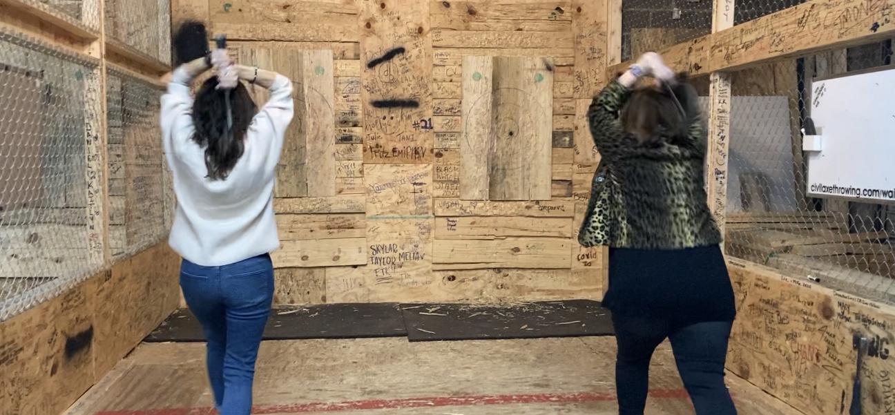 women axethrowing